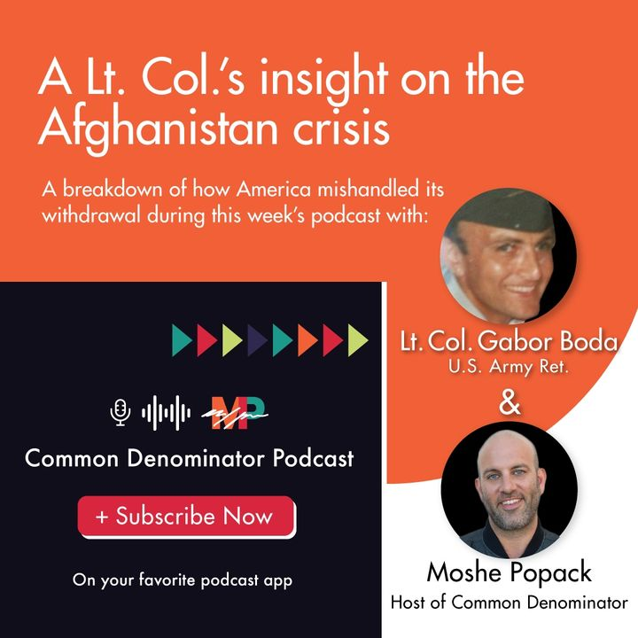 Straight-Up Conversation with Lt. Col. Gabor Boda