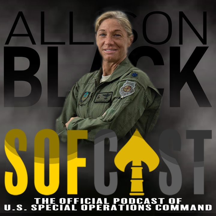 08. Col Allison Black - pioneering Air Force Special Ops aviator, helps answer hot topics across SOCOM