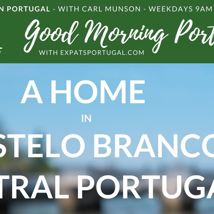 Home for sale in Castelo Branco, Central Portugal on the GMP!
