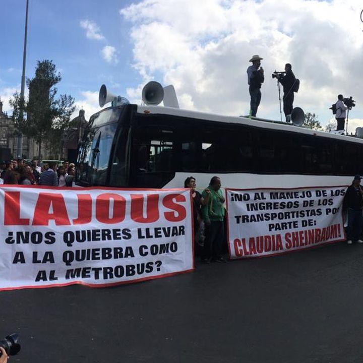 Gobierno capitalino niega aumento a transporte público