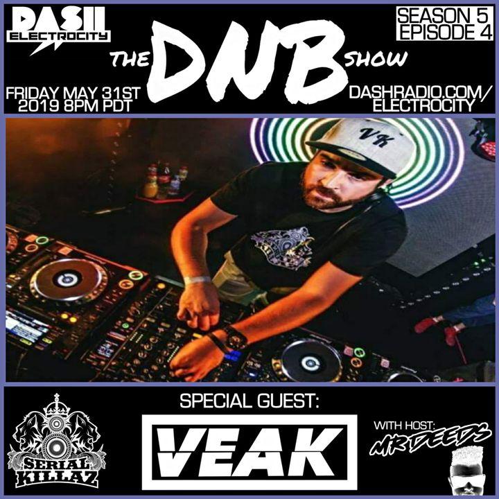 the DNB show Episode 46 (guest mix Veak)