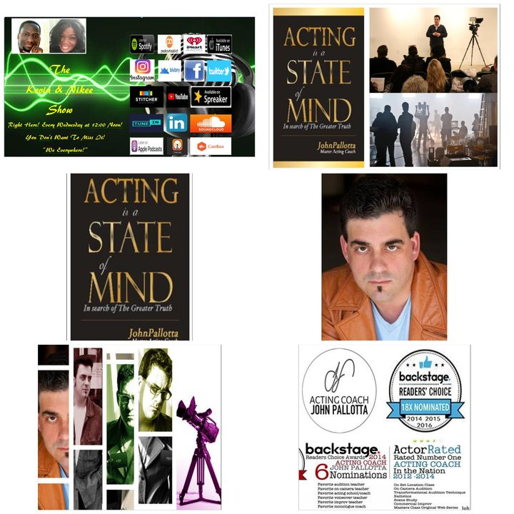 The Kevin & Nikee Show - John Polatta - Multi Award-Winning Author,  Actor, Teacher, Coach, Playwright and Artistic Director