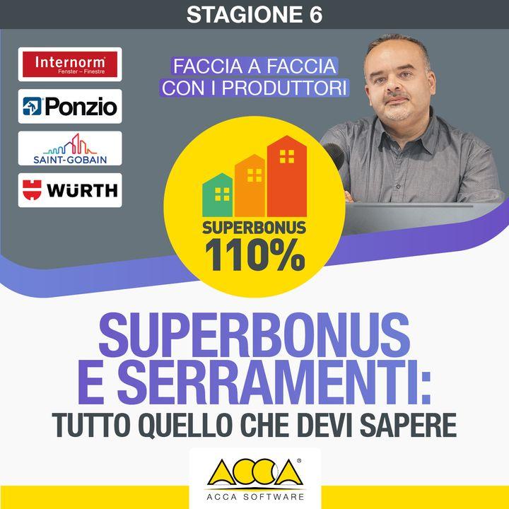 Webinar Superbonus 110 [S6 E3]:  Superbonus e serramenti