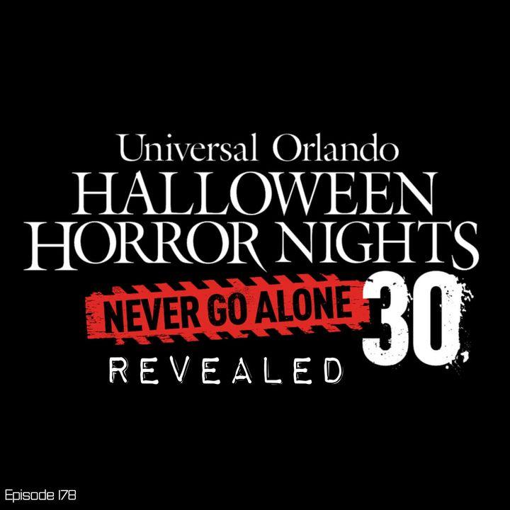 Houses & Scarezones of Halloween Horror Nights 30 REVEALED!