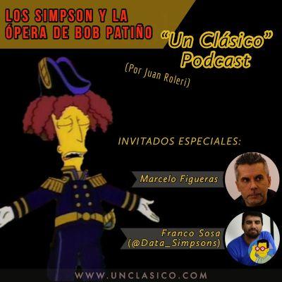 Los Simpson y la opera de Bob Patiño