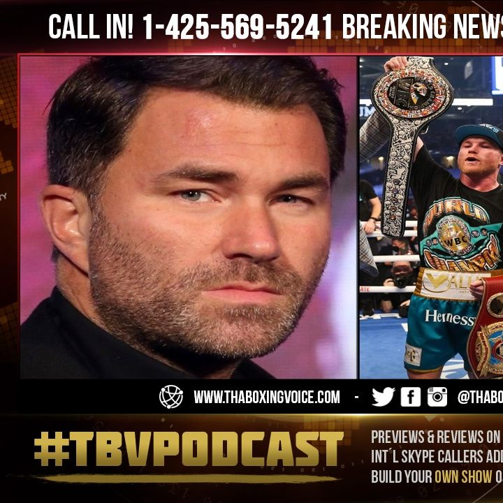 ☎️Canelo a Free Agent😱Eddie Hearn Matchroom Deal Expired😢Canelo vs Plant NEXT🤔