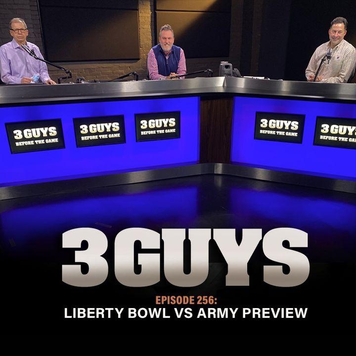 Liberty Bowl Preview vs Army with Tony Caridi, Brad Howe and Hoppy Kercheval