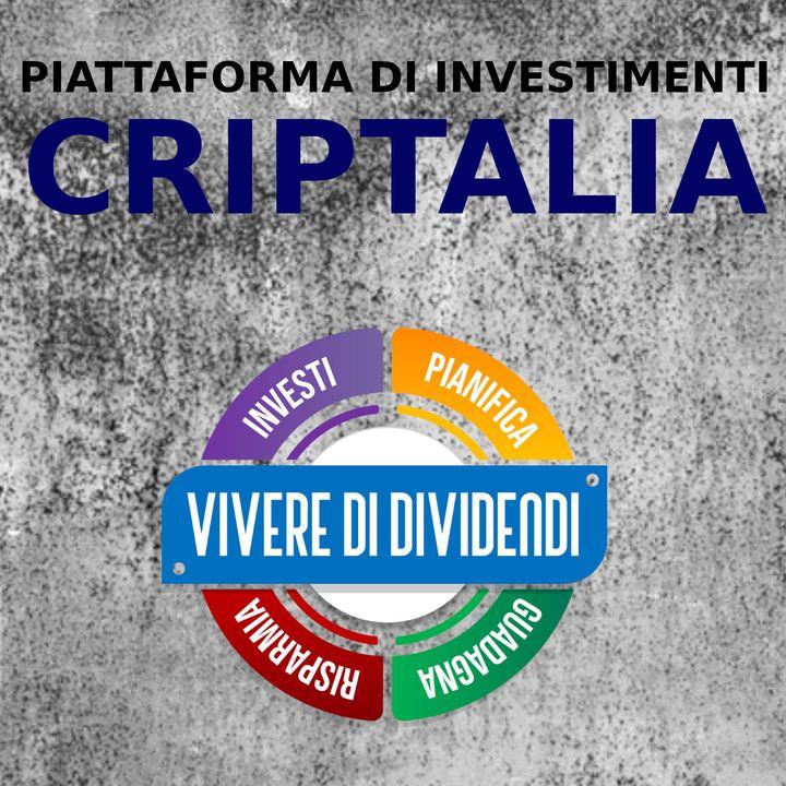 CRIPTALIA CHIEDILO AL CEO presentazione della piattaforma e dei progetti di investimento