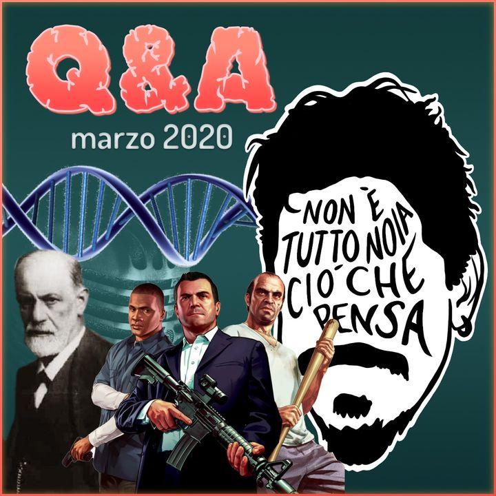 Ingegneria Genetica, Etica, Psicanalisi, Scrittori Russi e molto altro - Q&A di marzo