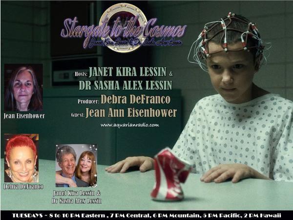Jean Ann Eisenhower ~ 10/27/20 ~ Stargate to the Cosmos ~ Hosts Janet Kira Lessi