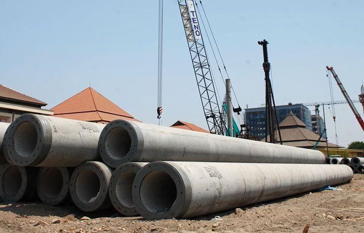 Daftar Harga & Ukuran Tiang Pancang Beton Pracetak ☎ (021) 2957 2295 (Megacon.id)