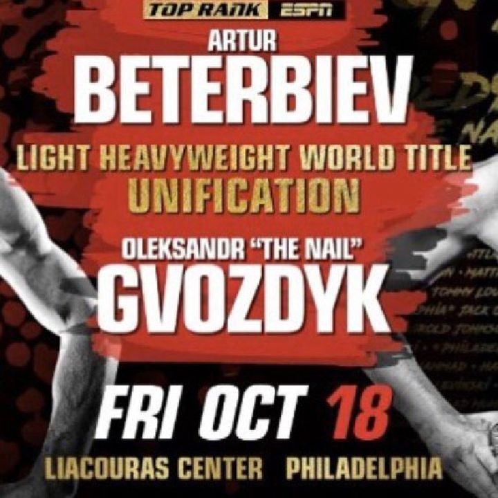Preview Of The Huge TopRankOnEspn Card Headlined By Artur Beterbiev-Oleksandr Gvozdyk In A Light-Heavyweight Unification Titlefight Friday!!