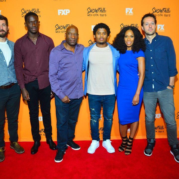 EXCLUSIVE ATLANTA MEDIA SCREENING: FX's Snowfall w/ John Singleton & cast