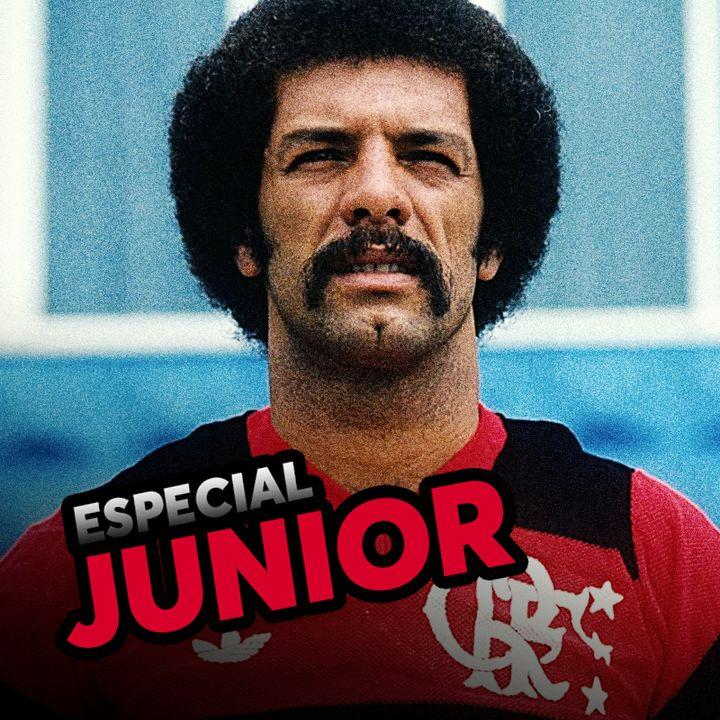 Ep#29 - LENDAS DO FLAMENGO -  Junior Capacete, ídolo de duas gerações!!