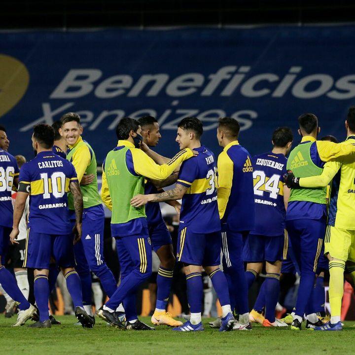 Boca-River: definición por penales (4-2)