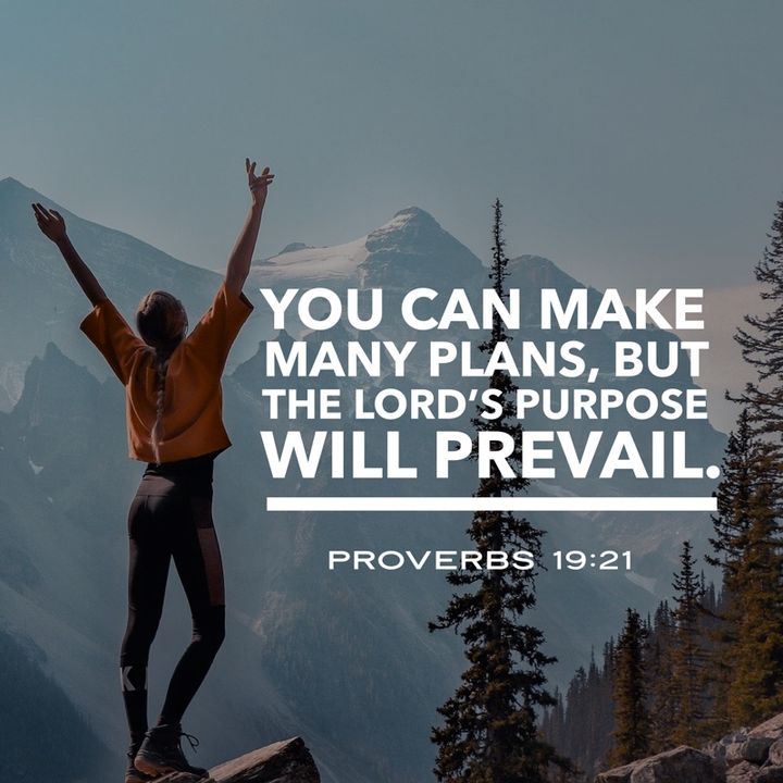 Know God's Purpose and Plan for Your Life Will Always Prevail