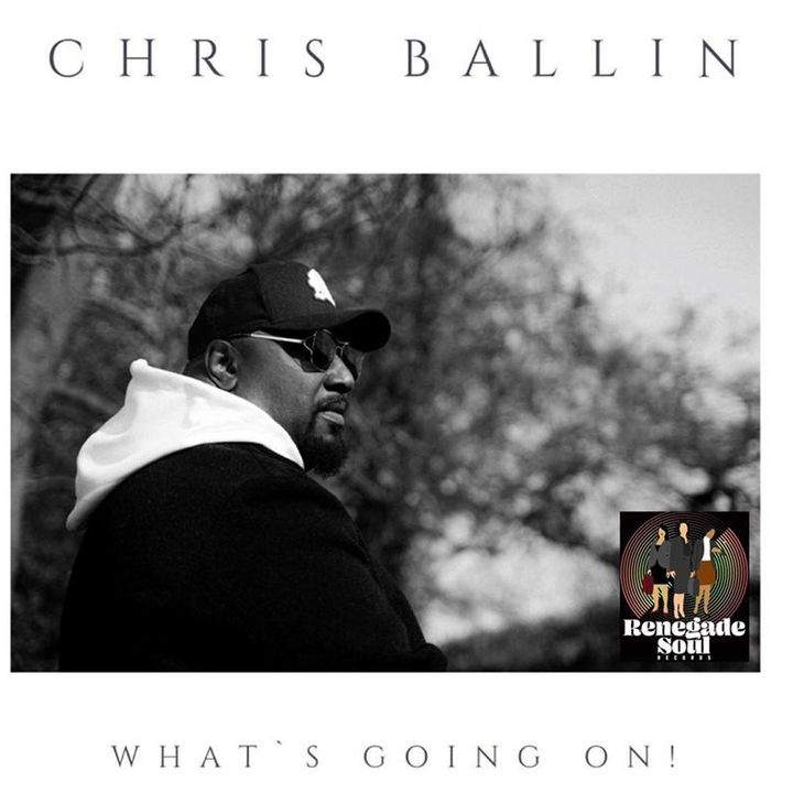 """UK Artist Chris Ballin from  Incognito Stops By To Share His New Solo Single """"What's Going On"""" With Patricia M. Goins & Mr. Stout"""