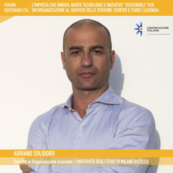 """Forum Sostenibilità 2021, 1°giornata   Digital Talk   L'impresa che innova: nuove tecnologie e iniziative """"sostenibili"""""""