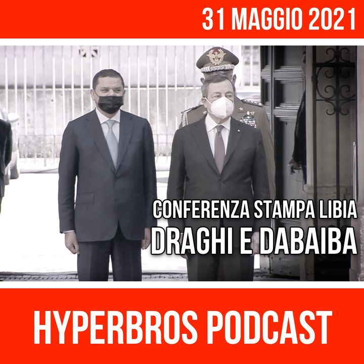 Draghi incontra a Roma il Primo Ministro libico Dabaiba