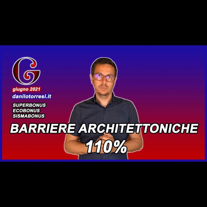 SUPERBONUS 110 per Abbattimento delle Barriere Architettoniche