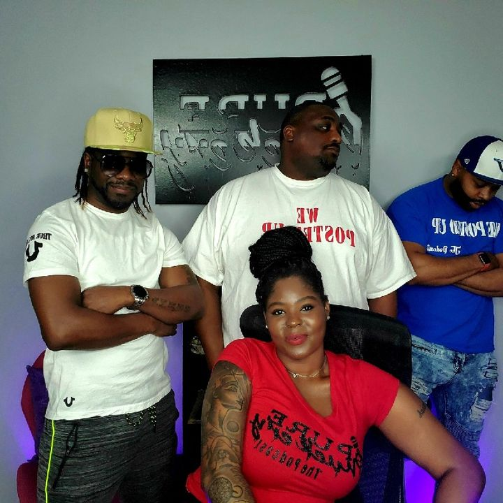 """Ep. 48🗣We Posted Up Takeover🗣 🧍🏿♂️🧍🏿♂️🧍🏿♂️ """"Three Men and a Phucking Lady""""🧍🏾♀️"""