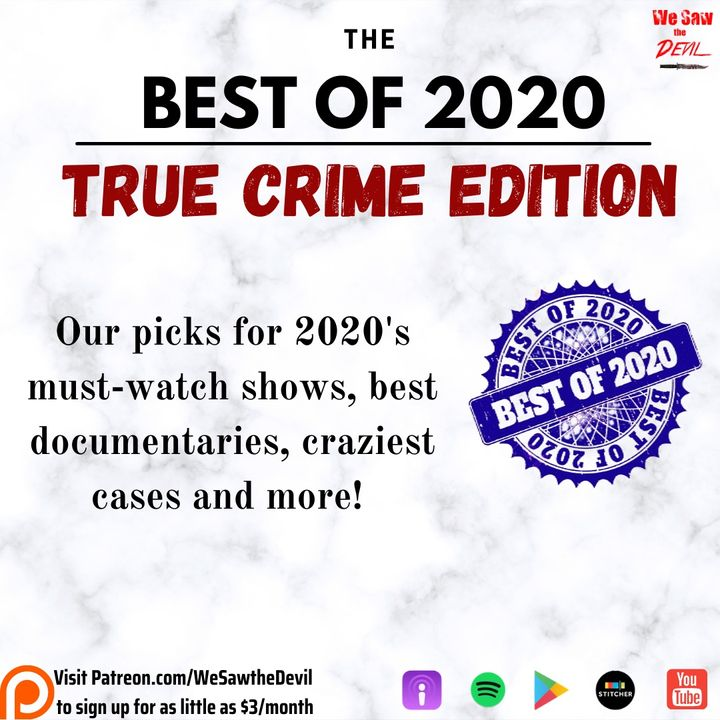 Best of 2020: True Crime Edition