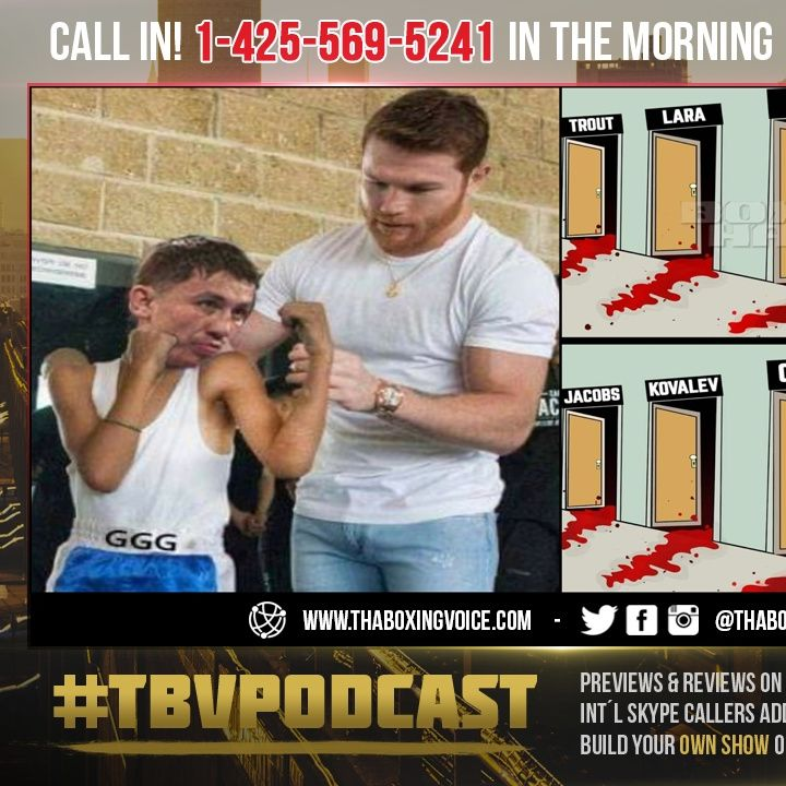 ☎️Canelo's Trainer Eddy Reynoso, Calling For 6TH Round KNOCKOUT of Saunders😱In a 22 Foot Ring❓
