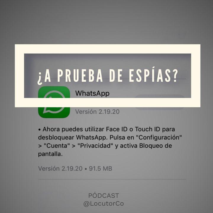 WhatsApp con auto bloqueo ¿es más seguro?