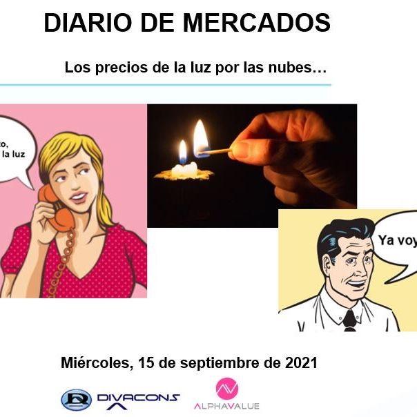 DIARIO DE MERCADOS Miércoles 15 Sept