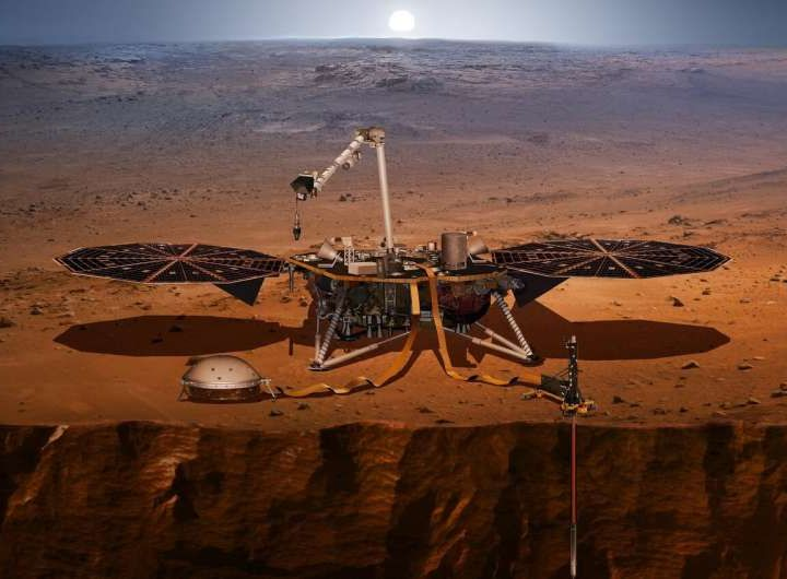 InSight rivela le dimensioni del nucleo di Marte