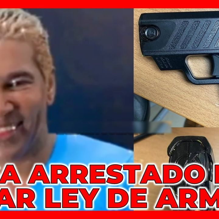OMEGA ARRESTADO POR VIOLAR LEY DE ARMAS