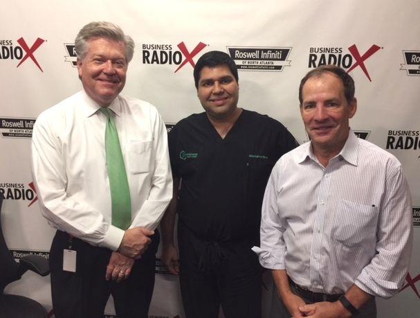Dr. Mike Majmundar with Northside Plastic Surgery and Alex Van Winkle with Van Winkle & Associates