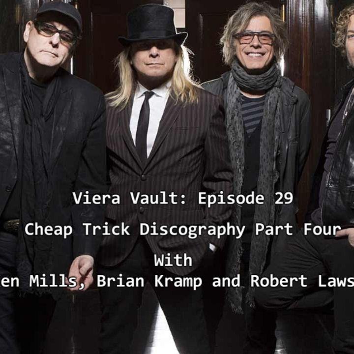 Episode 31: Cheap Trick Discography Part Four w/ Ken Mills, Brian Kramp and Robert Lawson