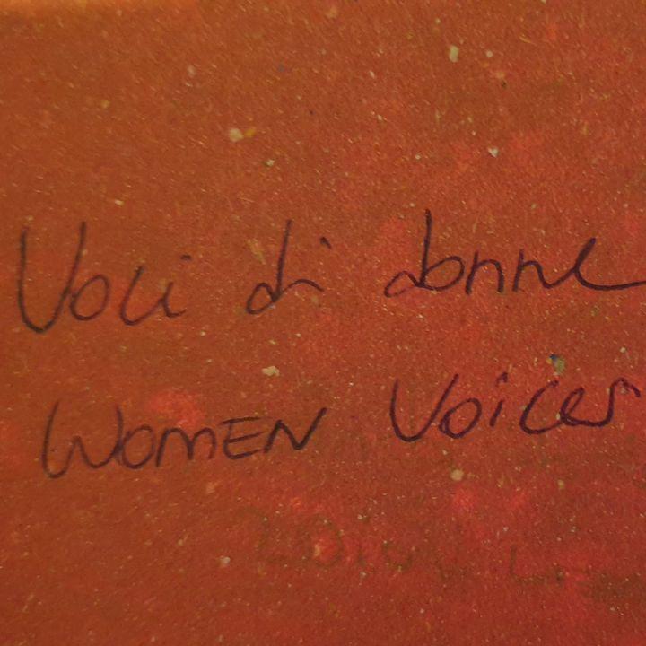 Voci di donne/Women Voices