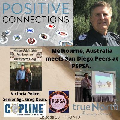 Melbourne, Australia-Meets San Diego Peers at PSPSA: Senior Sergeant Greg Dean: Victoria Police