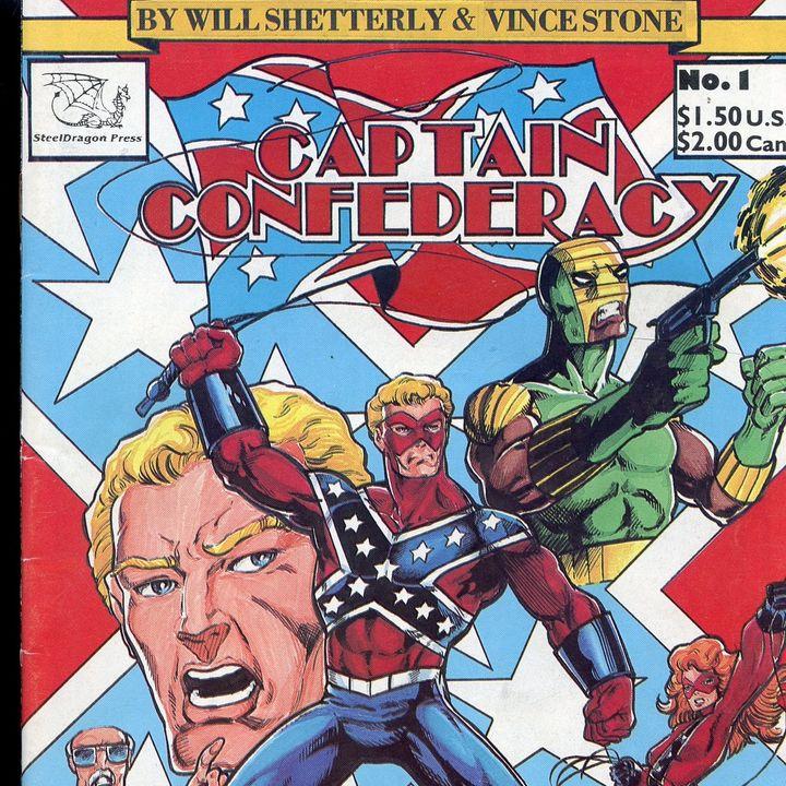Source Material #278 - SBTU - Captain Confederacy (Steel Dragon Press, 1986)