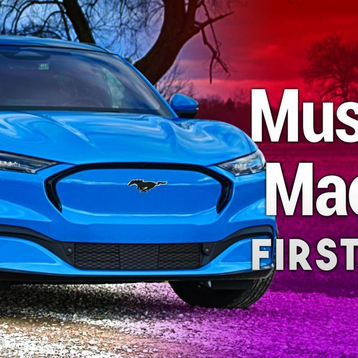 Mustang Mach-E First Drive Review - Ford's All-New New Electric Crossover