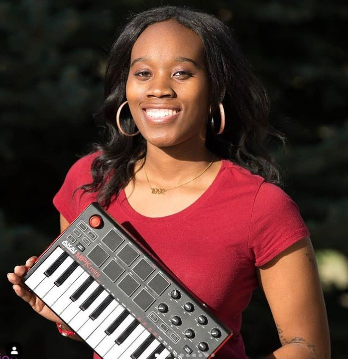 Ms Vame is a talented female beat maker out of Sacramento.  She also has a new Hat Line.