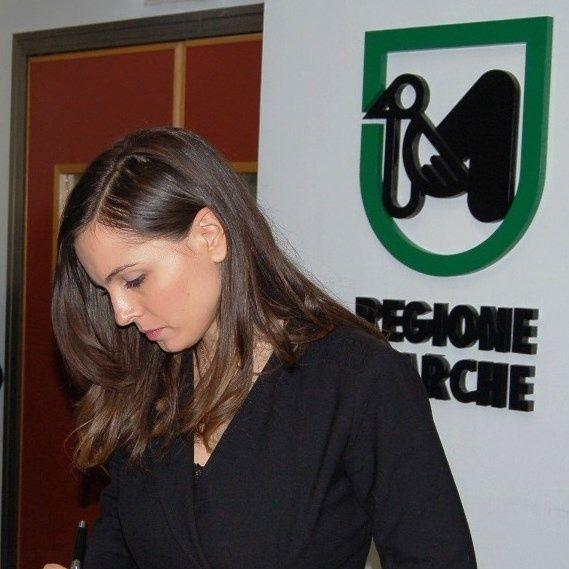 Manuela Bora consigliera PD Regione Marche