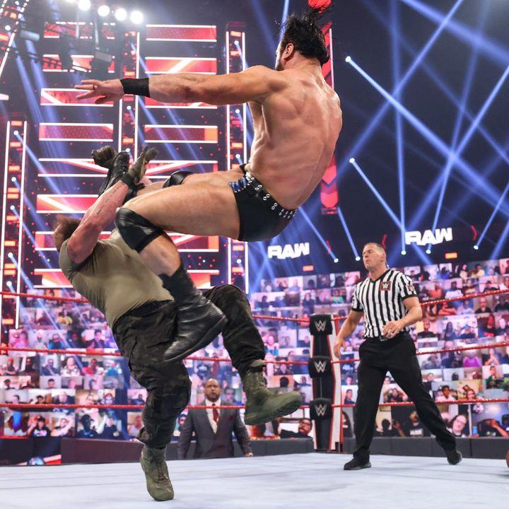 WWE Raw Review: McIntyre Lays Out Lashley & Stroman & AJ Styles/Omos Return