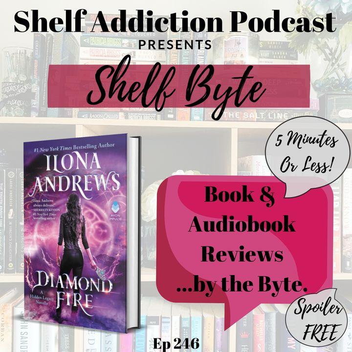 Review of Diamond Fire: A Hidden Legacy Novella | Shelf Byte