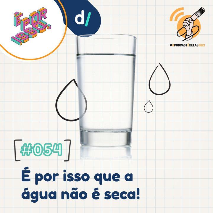 É Por Isso! #54 - É por isso que a água não é seca! 💧 #OPodcastÉDelas2021