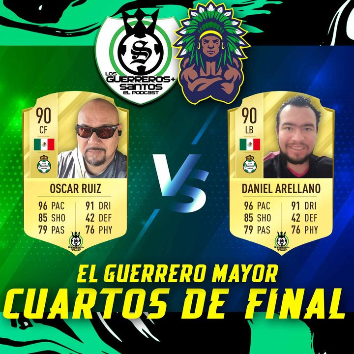 El Guerrero Mayor   Batalla #3   Cuartos de Final   Oscar vs Olinto Daniel