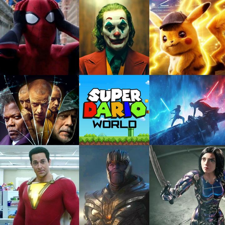 "Review of ""Dario's Most Anticipated Geek Movies of 2019"""