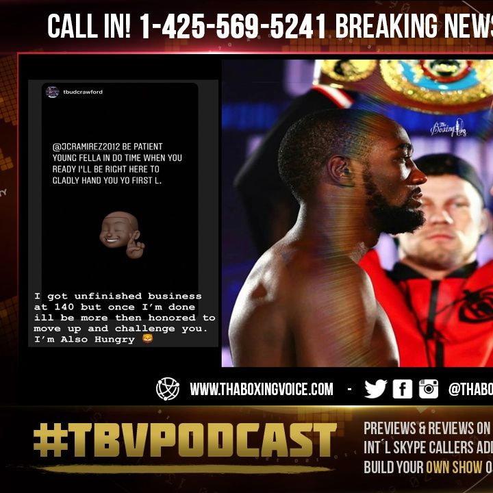 """☎️Terence Crawford Warns⚠️Jose Ramirez """"Be Patient, Young Fella"""" He'll Give Him His First LOSS😱"""