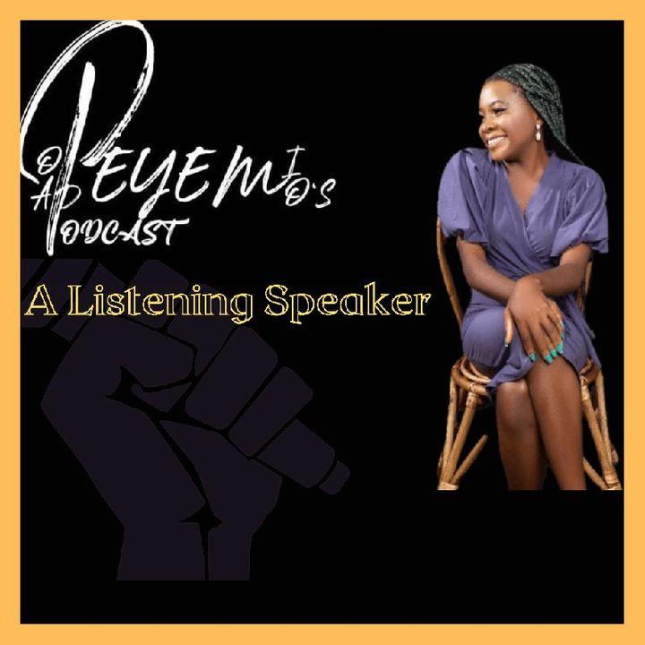 A Listening Speaker