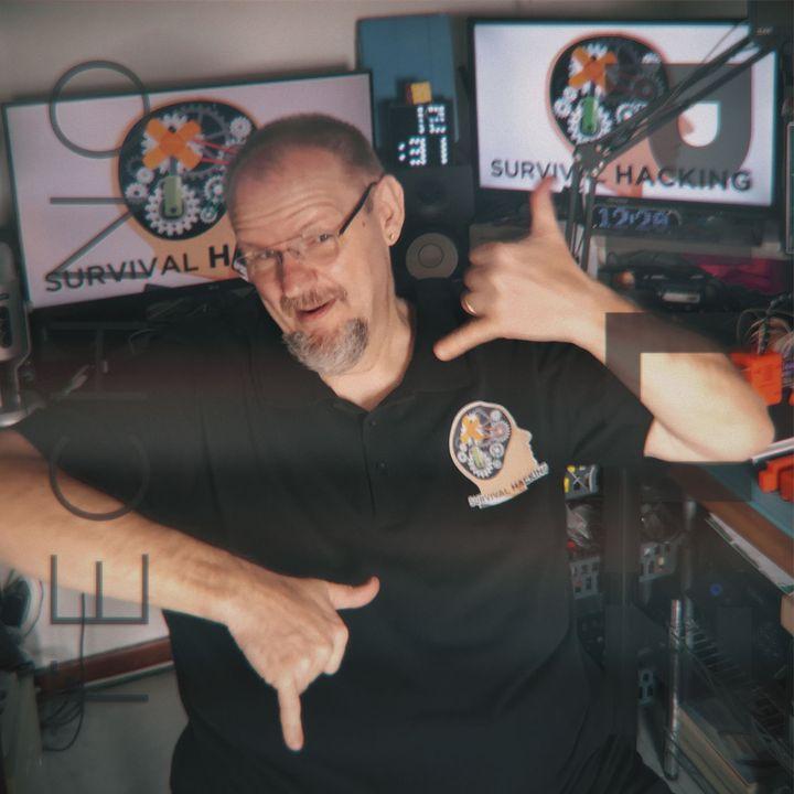 """Crossover TechnoPillz/Survival hacking: """"Setup per le pillole video di Davide Gatti (Survival Hacking)"""""""