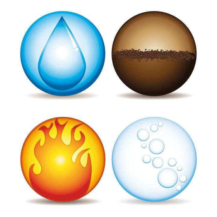 I quattro elementi