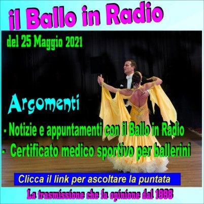 il ballo in radio di Tony Mantineo n° 209