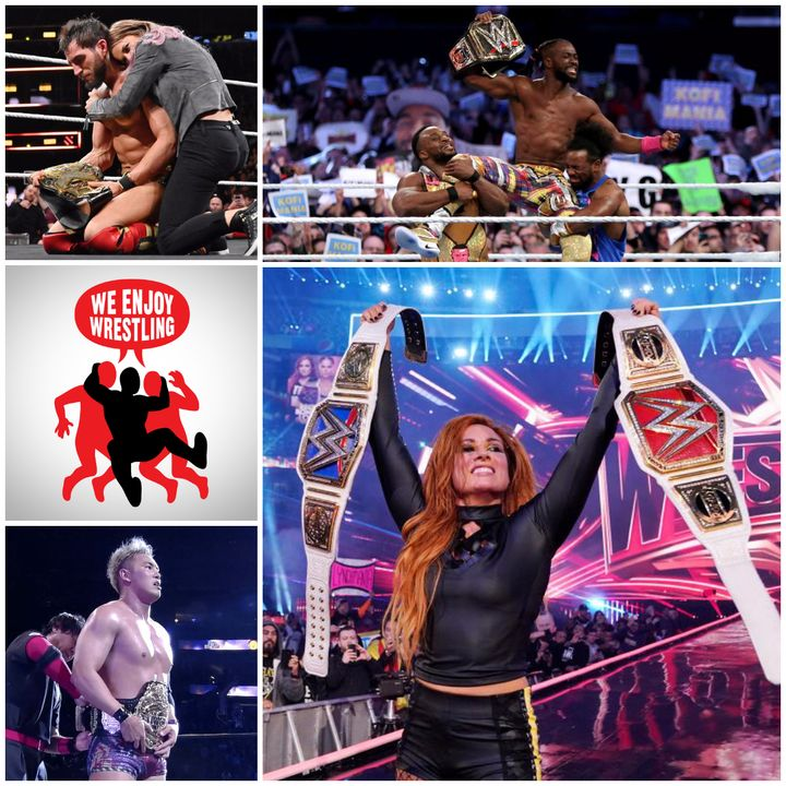 Ep 53 - Noodles and Rudeness (WrestleMania 35/NXT TakeOver/G1 Supercard Recap)